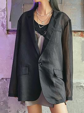 Dako see-through jacket