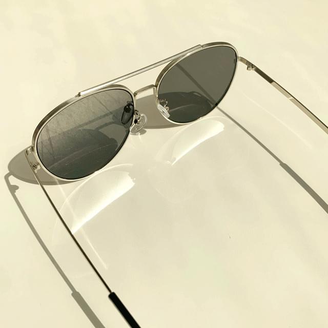 Round line sunglasses 2color