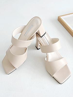 Retov Mule Slippers 7cm