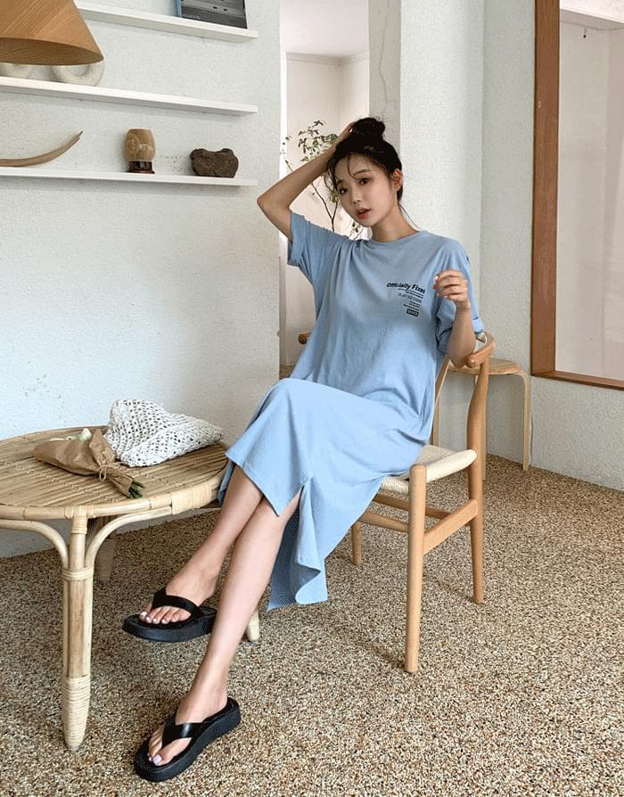 韓國空運 - Official Dress 及膝洋裝