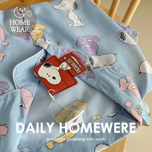 Snoopy Pajama Set (Genuine Peanuts)