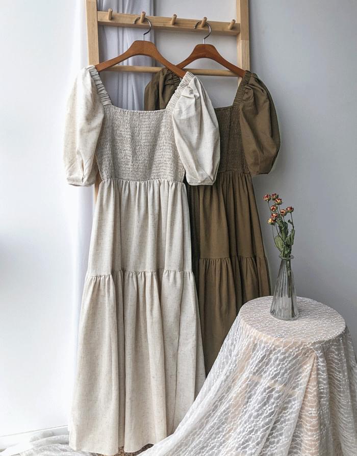 Linen Love Long Dress