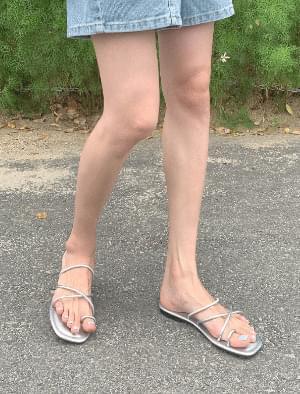 Easy Slim Strap Slippers