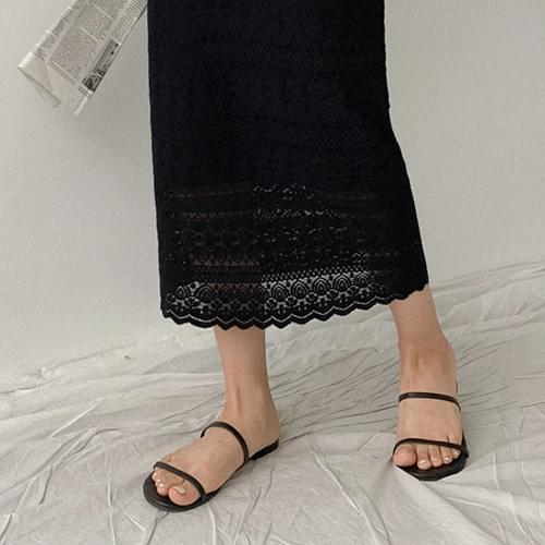 Mary's Race Long Skirt