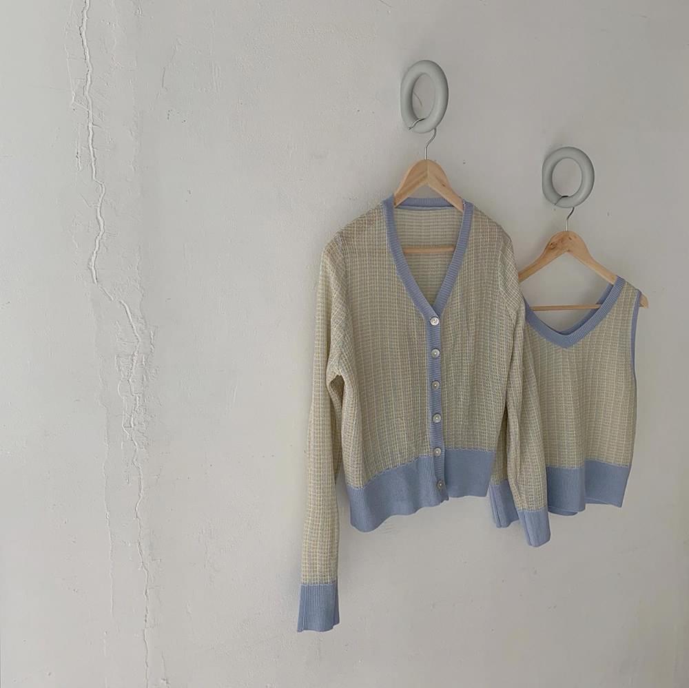 Summer tweed sleeve