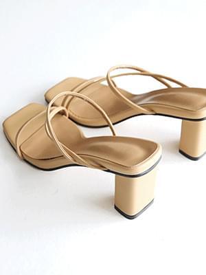 Positive mule slippers 6 cm