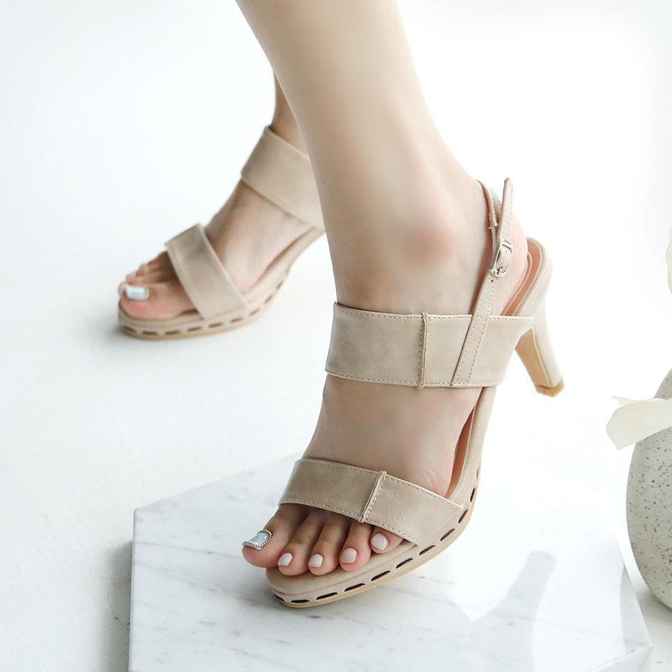 Avid Gaboroshi slingback sandals 7 cm