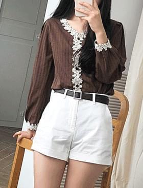 韓國空運 - Public Roll Up Shorts 短褲