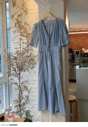 Slim Fit Guaranteed Denim Dress