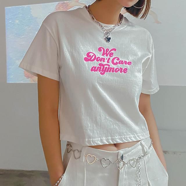 Loudon cropped t-shirt