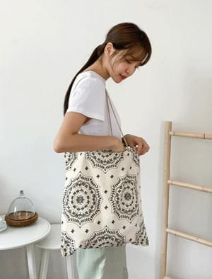 Vintage Paisley Pattern Eco Bag