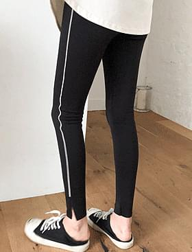 One-line leggings ♥Tim point