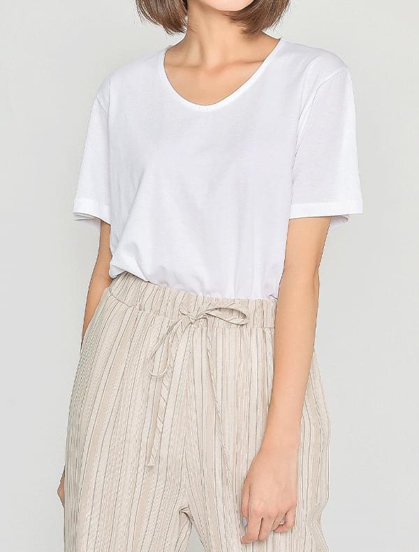 인디 유넥 티셔츠 (4color)