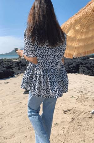 Marime shirring flare blouse blouses
