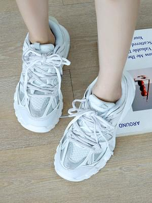 Hip Couple Ugly Sneakers 5cm