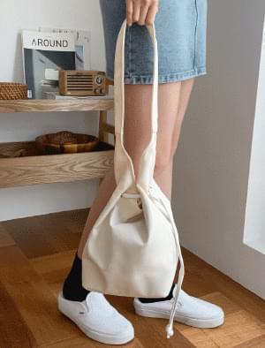 Strap double shoulder bag