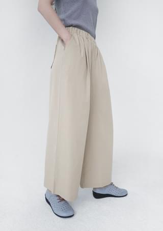 cool texture banding pants