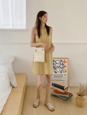 Daily Square Mini Leather Bag