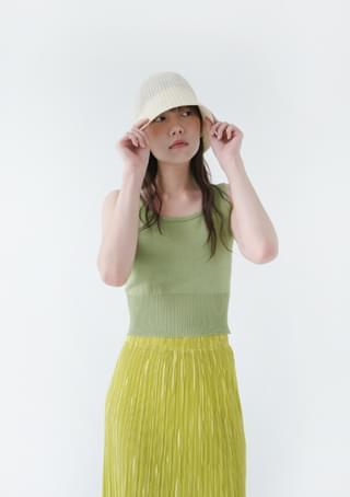 soft knit crop sleeveless