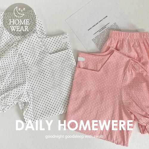 May Dot Pajama Set