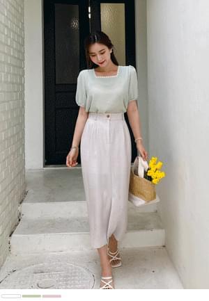 Cute lace square blouse