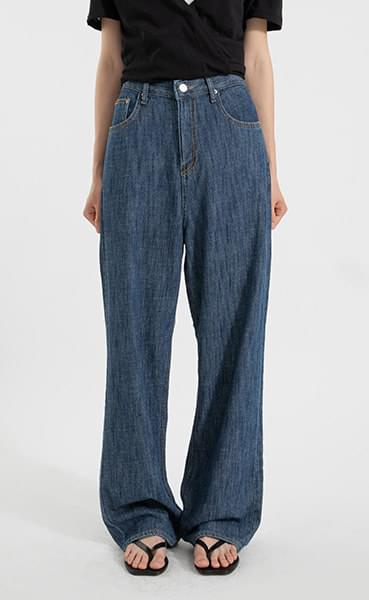Live high-rise wide jeans