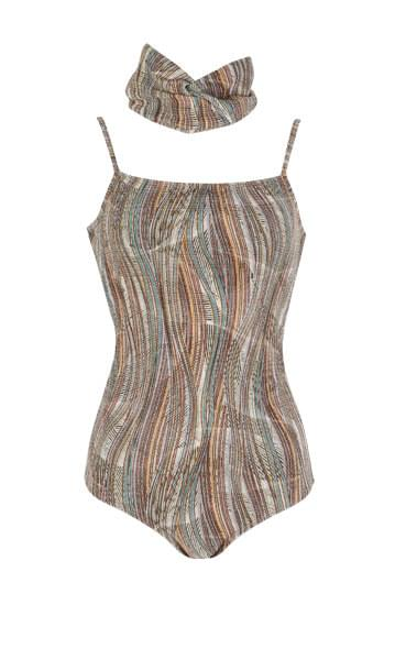 Bohemian band set one piece swimsuit