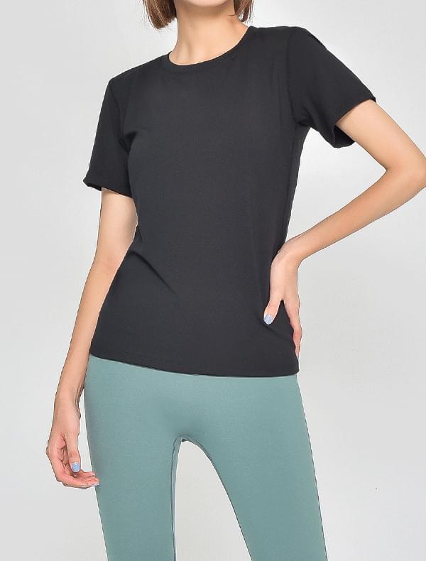 레스 하프 티셔츠 (5color)