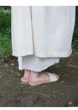 simple cork sandals