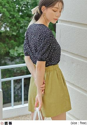 FLOWER COLORING 1/2 BLOUSE - 2 TYPE