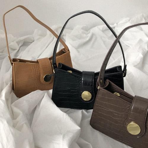 Hawk Gold Shoulder Bag