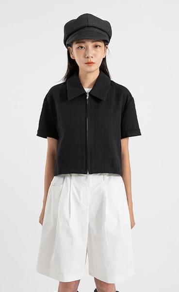 Teen Crop Half Jacket