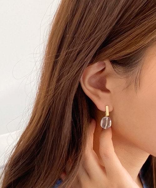 dewdrop earring イヤリング