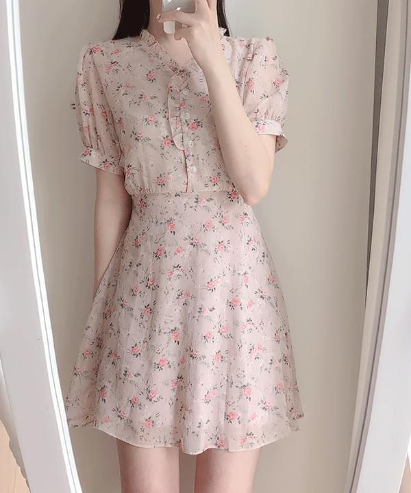 New Discount ♥ Ruid Flower Dress