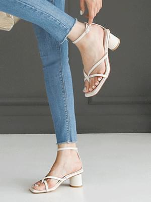 Deepez strap sandals 5 cm