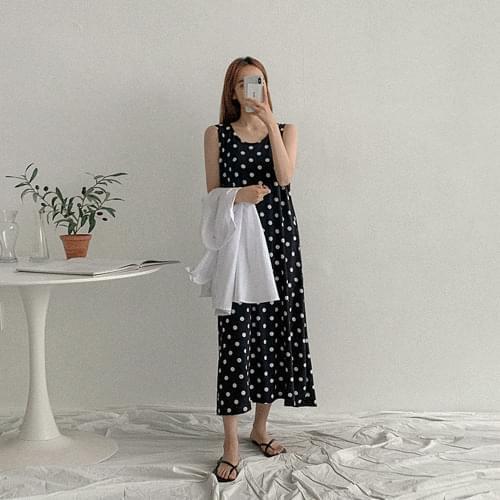 Dot Chalase Dress