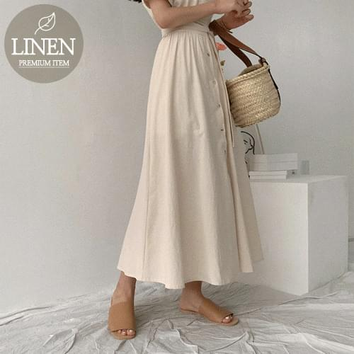 Lom Linen Long Dress