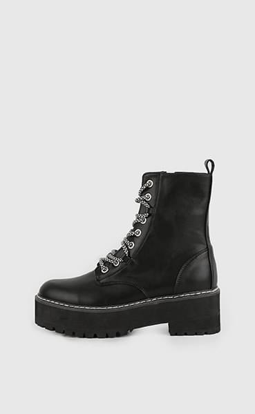 Martin lace-up walker boots