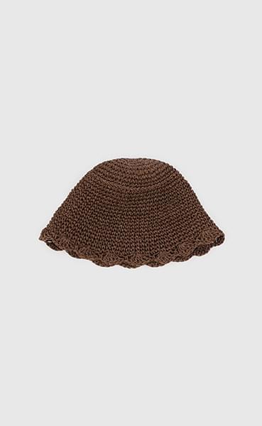 Lace paper bucket hat