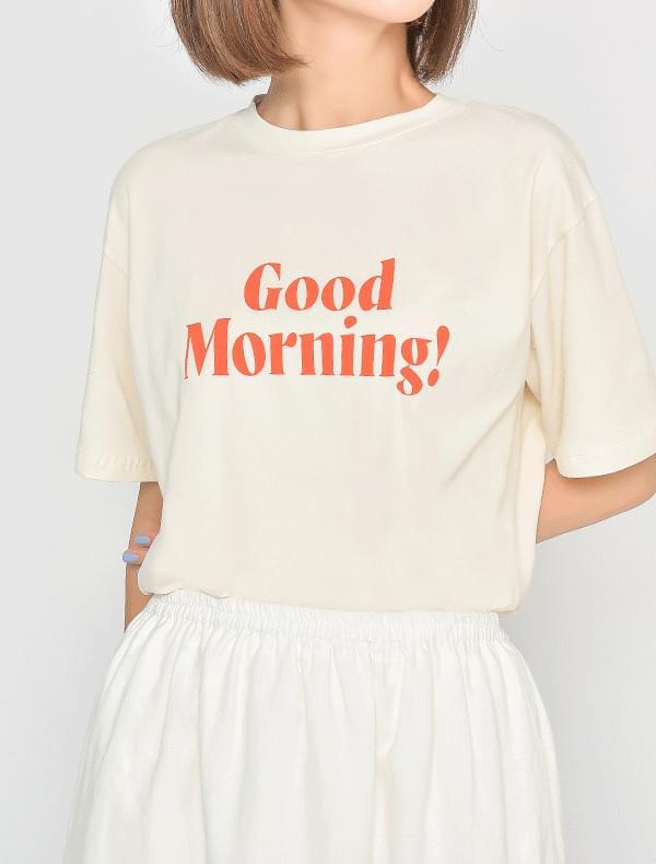 굿모닝 티셔츠 (5color)