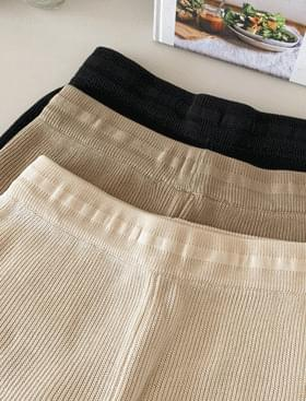 韓國空運 - Non-knit shorts 短褲