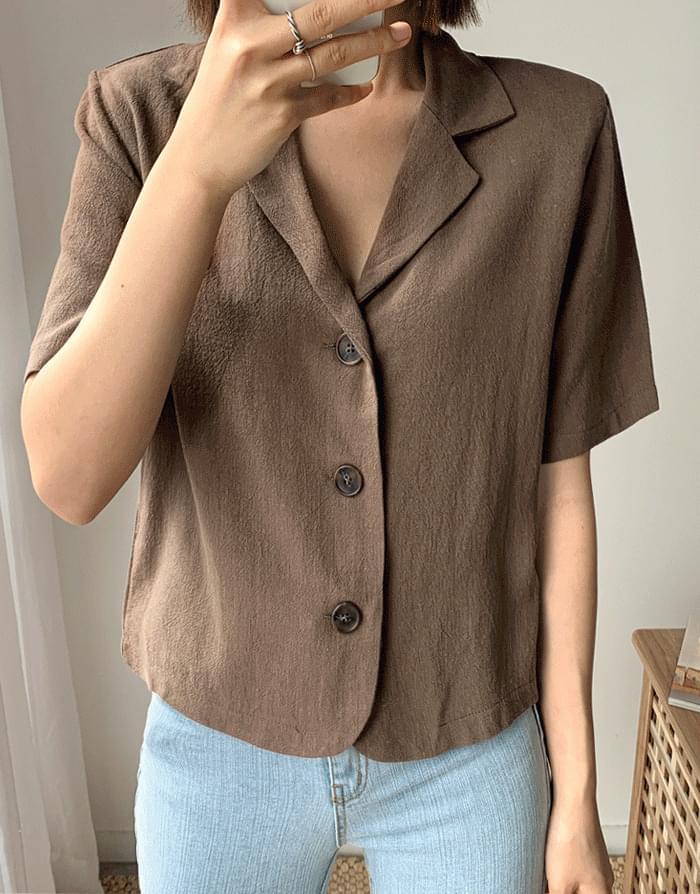 Linen Hera Jacket jacket