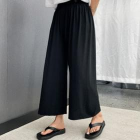 Preset wide pants