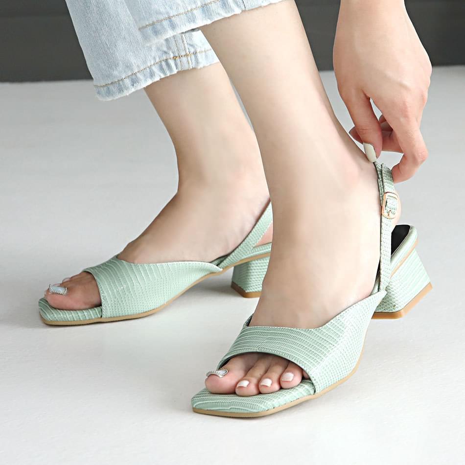 Schwez Slingback Sandals 4cm