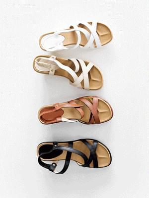 Rotive Wedge Slingback Sandals 6cm