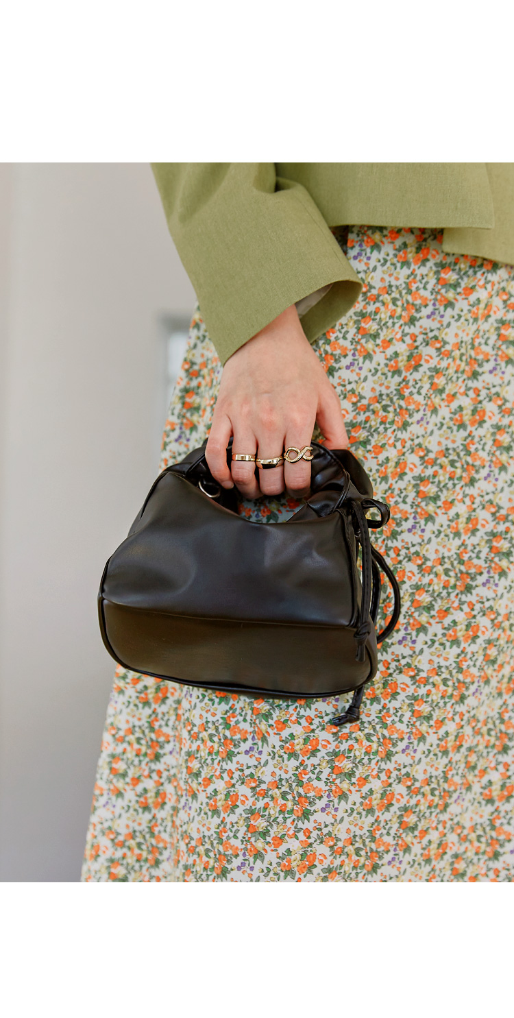 JOUR 2 WAY MINI LEATHER BAG