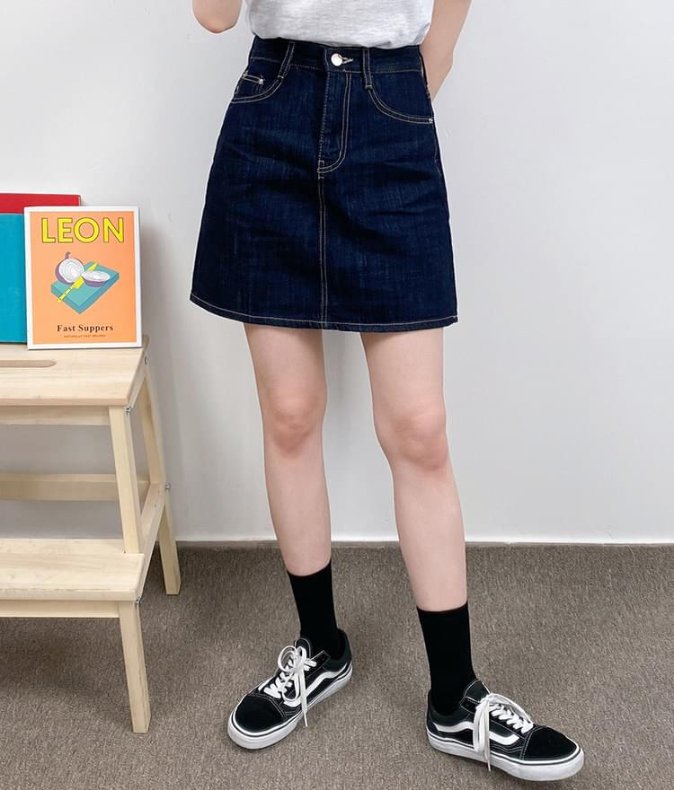 3105 denim mini skirt