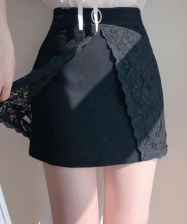 New Discount♥Delua Lace Pearl Skirt Pants