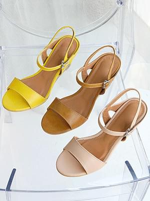 Piletta Wedge Slingback Sandals 6cm