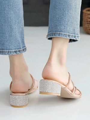 Odule mule slippers 4 cm